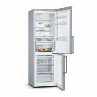 Bosch KGN36XL35 Serie | 4 NoFrost, Kombinált hűtő / fagyasztó Inoxlook ajtók