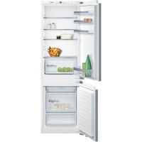 Bosch KIN86VF30 Serie   4 SmartCool NoFrost, Beépíthető kombinált hűtő / fagyasztó, alsó fagyasztóval Lapos ajtópánt rögzítés