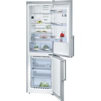 Bosch KGN36HI32 Serie | 6 NoFrost, Kombinált hűtő / fagyasztó Nemesacél ajtók