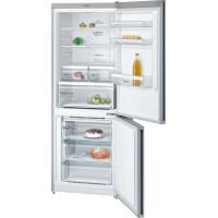 Bosch KGN46XL30  Serie   4 NoFrost, Kombinált hűtő / fagyasztó Inoxlook ajtók