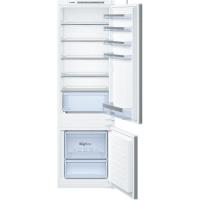 Bosch KIV87VS30 Serie   4 Beépíthető kombinált hűtő / fagyasztó, alsó fagyasztóval Csúszó zsanér rögzítés